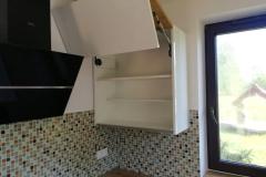 Meble kuchenne Ral9001 i płyty Egger H3303