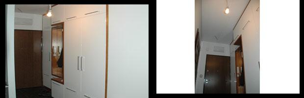 szafa na wymiar lakierowana na wysoki połysk